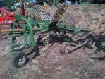 Mechanized hay rakes KRONE 461