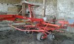 Mechanized hay rakes KUHN GA 7822
